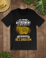 RETIREMENT ACCORDION Classic T-Shirt lifestyle-mens-crewneck-front-18