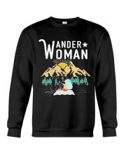 WANDER WOMAN CAMPING Crewneck Sweatshirt thumbnail