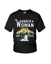 WANDER WOMAN CAMPING Youth T-Shirt thumbnail