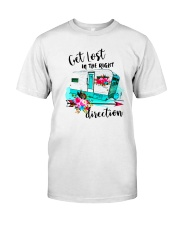 CAMPING RIGHT DIRECTION Classic T-Shirt front