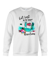CAMPING RIGHT DIRECTION Crewneck Sweatshirt tile