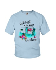CAMPING RIGHT DIRECTION Youth T-Shirt thumbnail