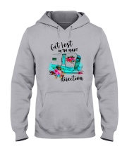 CAMPING RIGHT DIRECTION Hooded Sweatshirt thumbnail