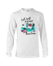 CAMPING RIGHT DIRECTION Long Sleeve Tee thumbnail