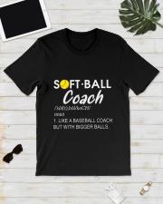 SOFTBALL COACH LIKE Classic T-Shirt lifestyle-mens-crewneck-front-17