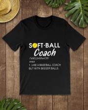 SOFTBALL COACH LIKE Classic T-Shirt lifestyle-mens-crewneck-front-18