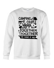 CAMPING COUPLE Crewneck Sweatshirt thumbnail