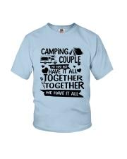 CAMPING COUPLE Youth T-Shirt thumbnail