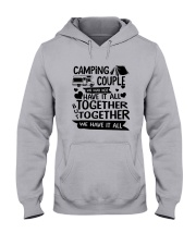 CAMPING COUPLE Hooded Sweatshirt thumbnail