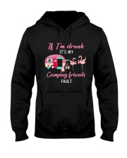 FLAMINGO CAMPING FRIENDS Hooded Sweatshirt thumbnail