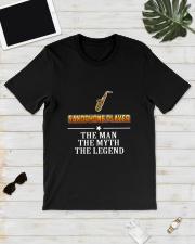 SAXOPHONE LEGEND Classic T-Shirt lifestyle-mens-crewneck-front-17