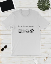CAMPING COFFEE DOG Classic T-Shirt lifestyle-mens-crewneck-front-17