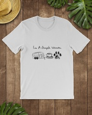 CAMPING COFFEE DOG Classic T-Shirt lifestyle-mens-crewneck-front-18