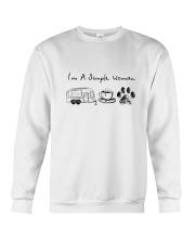 CAMPING COFFEE DOG Crewneck Sweatshirt thumbnail