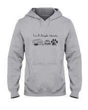 CAMPING COFFEE DOG Hooded Sweatshirt thumbnail