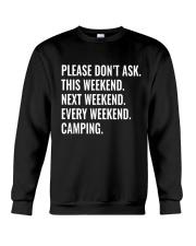 CAMPING WEEKEND Crewneck Sweatshirt thumbnail