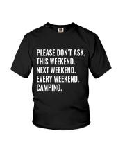 CAMPING WEEKEND Youth T-Shirt thumbnail