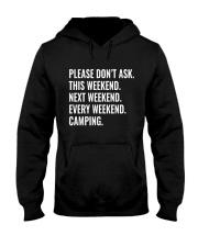 CAMPING WEEKEND Hooded Sweatshirt thumbnail