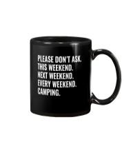 CAMPING WEEKEND Mug thumbnail