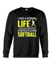 LIFE SOFTBALL Crewneck Sweatshirt thumbnail
