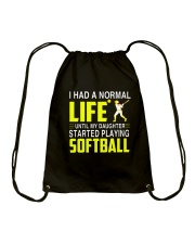 LIFE SOFTBALL Drawstring Bag thumbnail