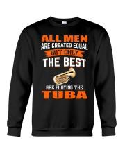 THE BEST PLAYING TUBA Crewneck Sweatshirt thumbnail