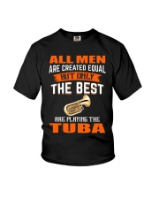 THE BEST PLAYING TUBA Youth T-Shirt thumbnail