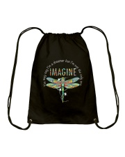 HIPPIE IMAGINE Drawstring Bag thumbnail