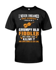 GRUMPY OLD FIDDLER Classic T-Shirt front