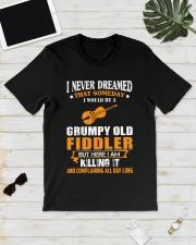 GRUMPY OLD FIDDLER Classic T-Shirt lifestyle-mens-crewneck-front-17