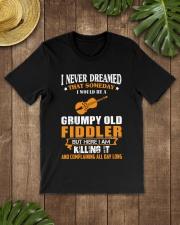 GRUMPY OLD FIDDLER Classic T-Shirt lifestyle-mens-crewneck-front-18