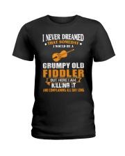 GRUMPY OLD FIDDLER Ladies T-Shirt thumbnail