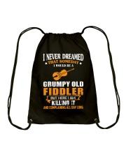 GRUMPY OLD FIDDLER Drawstring Bag thumbnail