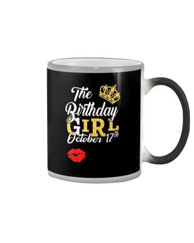 17TH OCTOBER GIRL