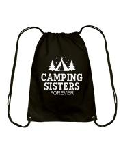 CAMPING SISTER FOREVER Drawstring Bag thumbnail