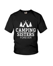 CAMPING SISTER FOREVER Youth T-Shirt thumbnail