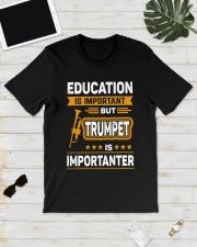 EDUCATION TRUMPET Classic T-Shirt lifestyle-mens-crewneck-front-17