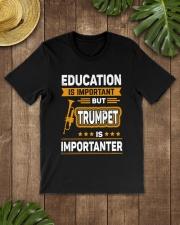 EDUCATION TRUMPET Classic T-Shirt lifestyle-mens-crewneck-front-18
