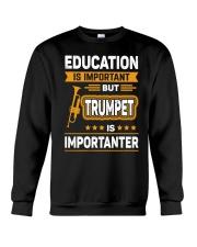 EDUCATION TRUMPET Crewneck Sweatshirt thumbnail