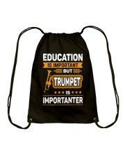 EDUCATION TRUMPET Drawstring Bag thumbnail
