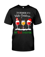 WHITE WINE CHRISTMAS Classic T-Shirt front