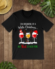 WHITE WINE CHRISTMAS Classic T-Shirt lifestyle-mens-crewneck-front-18