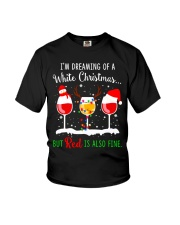 WHITE WINE CHRISTMAS Youth T-Shirt thumbnail