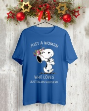 DOG LOVER Classic T-Shirt lifestyle-holiday-crewneck-front-2