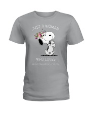 DOG LOVER Ladies T-Shirt thumbnail