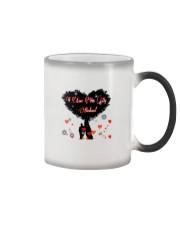 I love you my husband Color Changing Mug thumbnail
