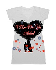 I love you my husband All-over Dress front
