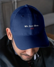 biden we just did hat Embroidered Hat garment-embroidery-hat-lifestyle-02