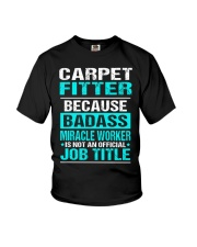 APPAREL CARPET FITTER Youth T-Shirt thumbnail