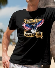 Proud to be AMERICAN Classic T-Shirt lifestyle-mens-crewneck-front-11